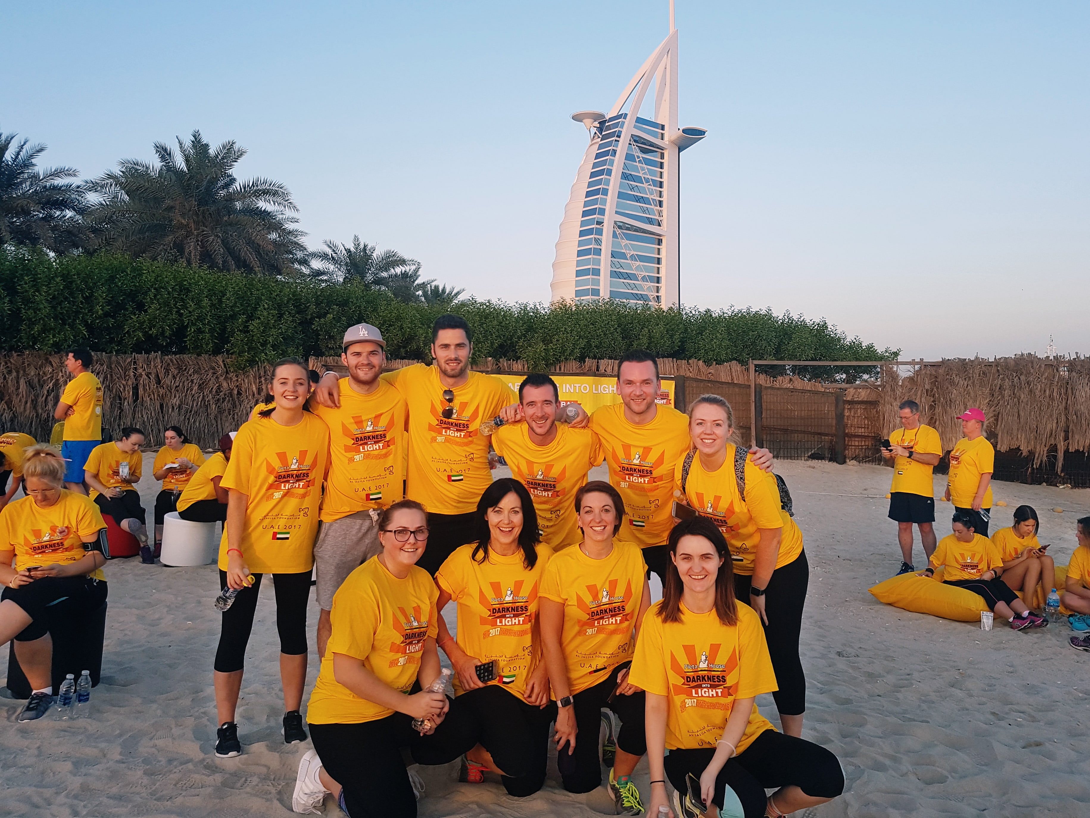 Group - Darkness into Light Walk